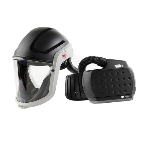 890307HD 3M™ M-Series Versaflo Face Shield & Safety Helmet M-307 with Heavy-Duty Adflo PAPR Respirator
