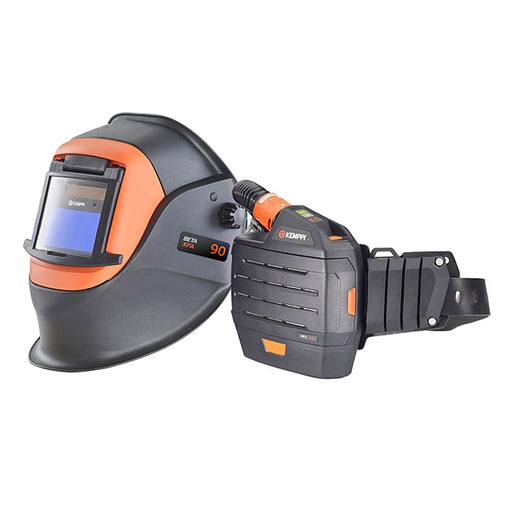 Kemppi Beta 90 XFA Welding Helmet with PFU 210e PAPR
