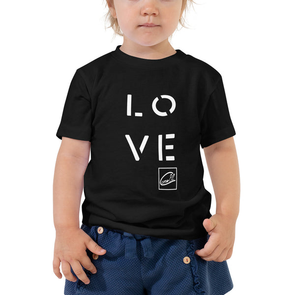 LOVE Toddler Short Sleeve Tee