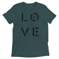 LOVE / Womens Short Sleeve T-shirt