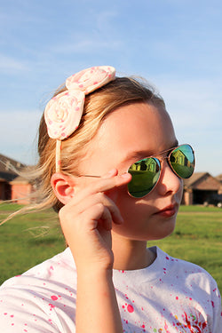 Kids Aviator Mirrored Sunglasses