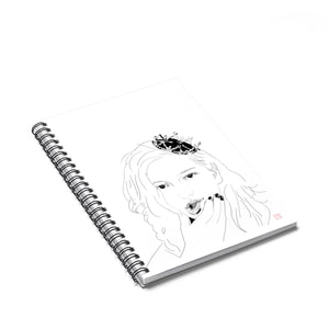 King Princess Spiral Notebook - Ruled Line/Lesbian Musician/Lesbian Art/LGBTQ Pride/Mikaela Straus/Gay Artwork/Queer Artwork