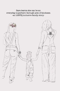 Lesbian Family Book/Lesbian Children's Book/Teach Kindness Story/Two Moms/LGBTQ Book/LGBTQ Baby Shower/Gay Pride/Lesbian Gift