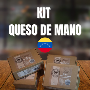 FREE SHIPPING TO USA(*) Kit - Queso de Mano Venezolano