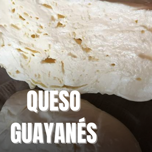 Queso Guayanes/Guayanes cheese ONLY TO BE SOLD WITHIN NEW ZEALAND