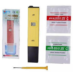 (Free Shipping to USA) Digital pH meter. Include calibrating sacks, screwdriver. Accuracy 0.1