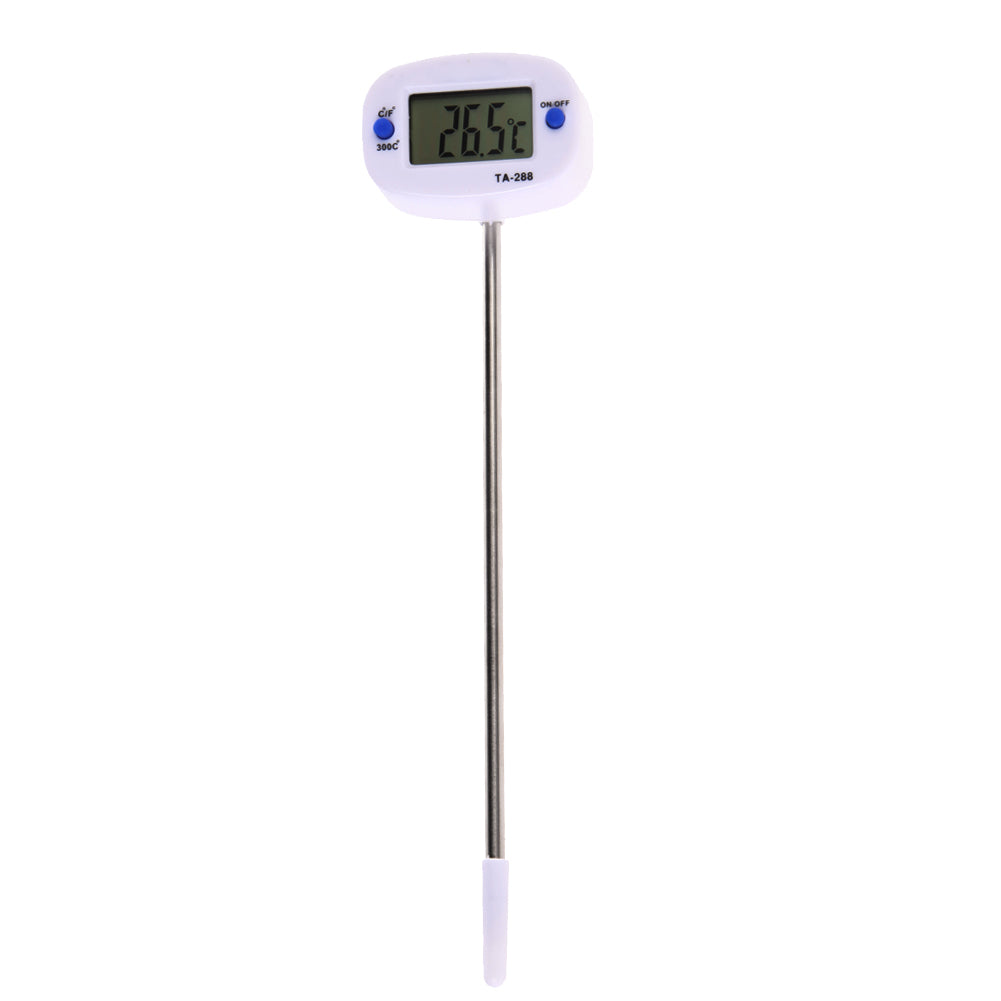1PC LCD Display Digital Probe Cooking Thermometer Food Temperature Sensor Electronic BBQ Household Temperature Detector Tool