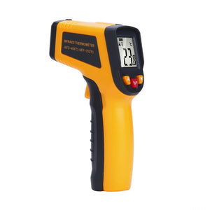 (Free Shipping) Professional Grade Non-Contact LCD IR Infrared Digital Thermometer Laser Point with Battery