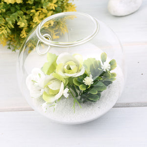 Hanging Glass Flower Planter