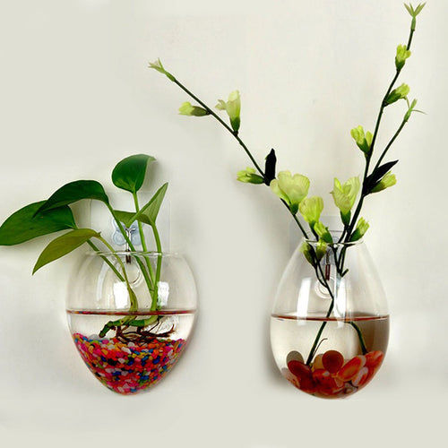 Hanging Glass Vase Home Decor