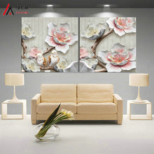 3D Art Lotus Poster Wall Art