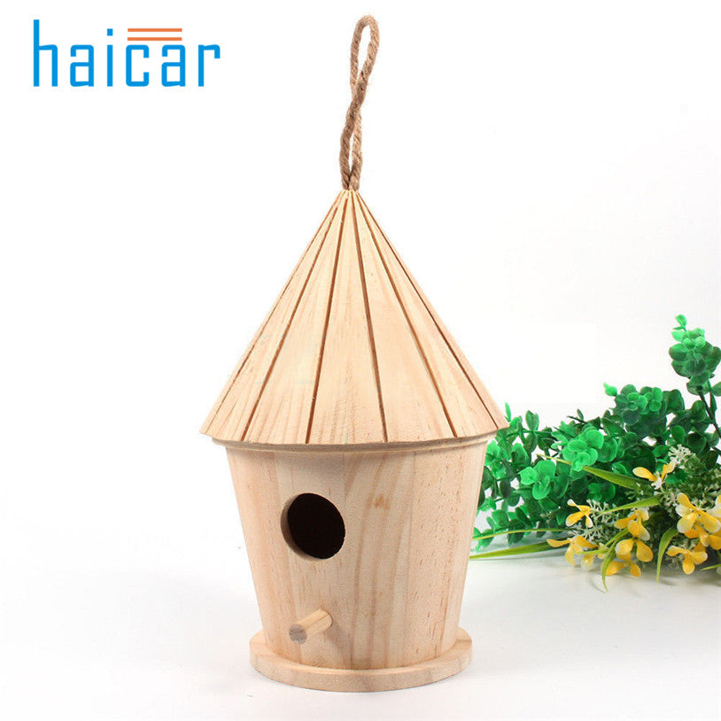 Wooden garden Bird Nests
