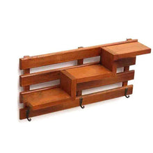 Wall Decorated Wooden Shelves