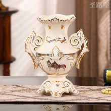 sitting room decorate ceramic vase