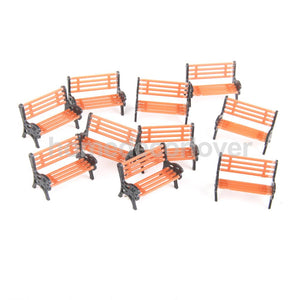10 Pcs Miniature Benches