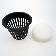 "10 pcs Large 3"" Black White Red Mesh Pot +  Root Guard Fix"