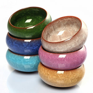Mini Round Ceramic Juicy Flowerpots