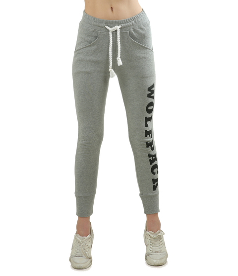 Grey Slim Fit Jogger - WOLFPACK
