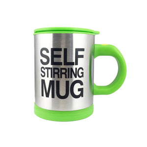Steel Surface with Lid Lazy Automatic Self Stirring Mug - Emporium Galore