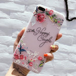 Flower Silicon Phone Case For iPhone - Emporium Galore