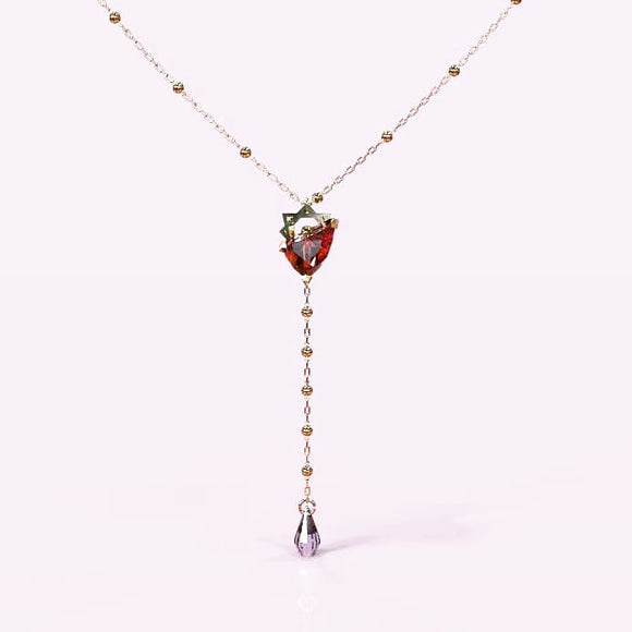 Dazzling Blood Necklace