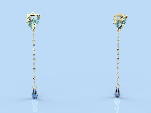 River Of Tears Earring