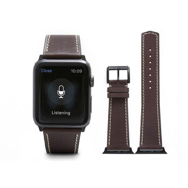 Kobicha French Calf Leather Apple Watch Band