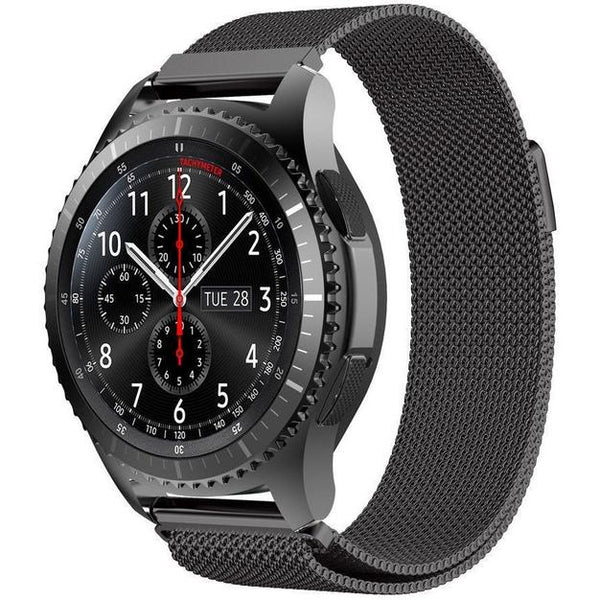 Black Milanese Loop Samsung Gear S3 Band