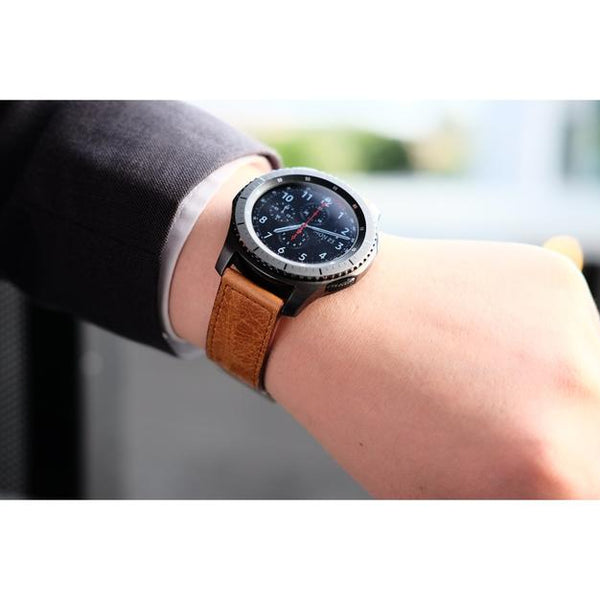 Vintage Leather Samsung Gear S3 Band