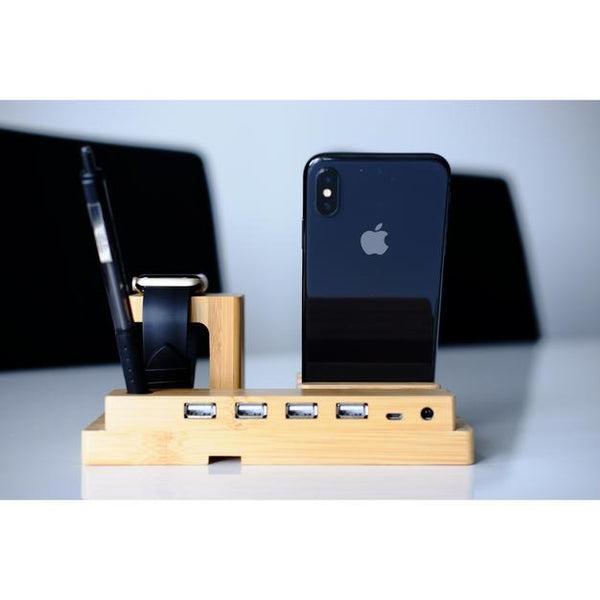 Apple Watch Stand - Bamboo Expert