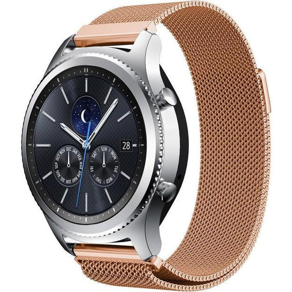 Rose Gold Milanese Loop Samsung Gear S3 Band