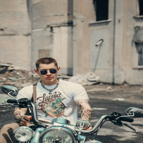 Men's Vintage Style 'Lapula Tattoo' Tee
