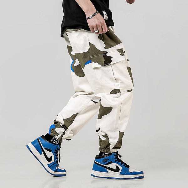 Men's Ultra Baggy Camouflage Cargo Pants