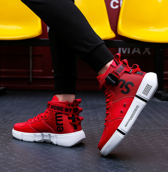Men's High Top Retro Style Urban Boots