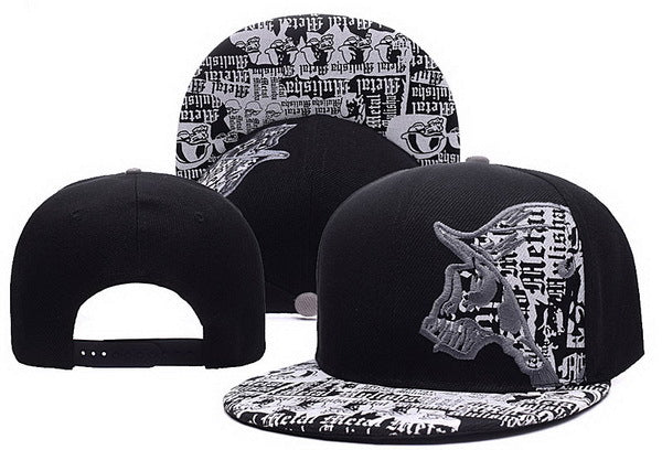 Men's Hip Hop Style Gray Snap Back Cap