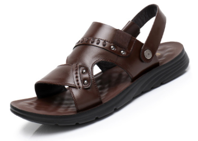 Men's Breathable Leather Sandals