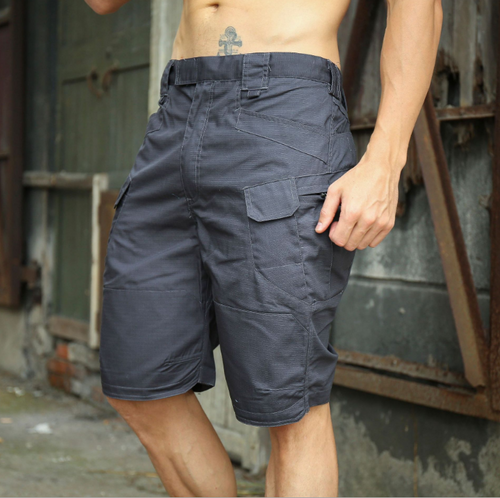 Men's Loose Fit Cargo Shorts w/ Side Pockets