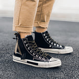 Men's Rustic Style High Top Boots