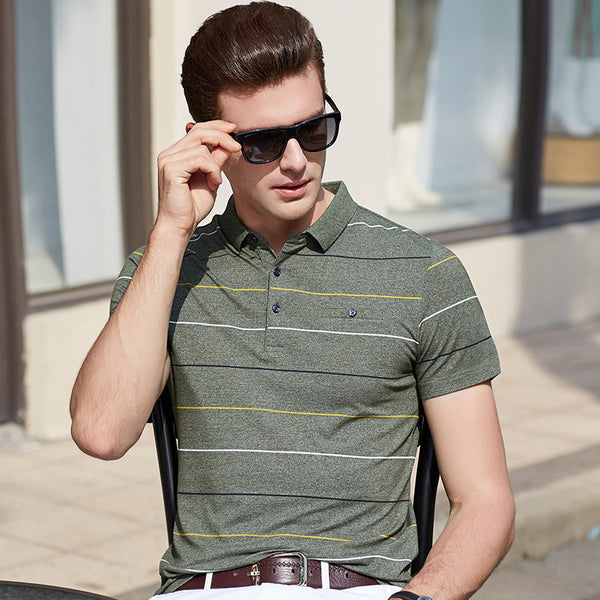 Men's Semi Solid Polo