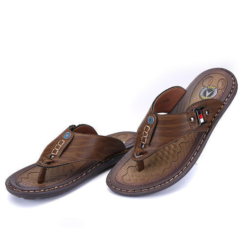 Men's Non-Slip Microfiber Sandals