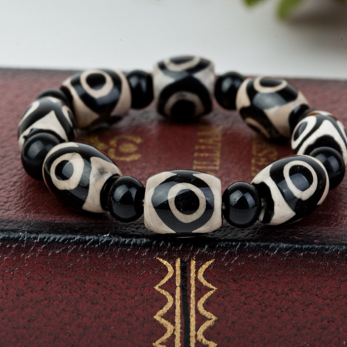 Men's Osiris Styled Beaded Bracelet