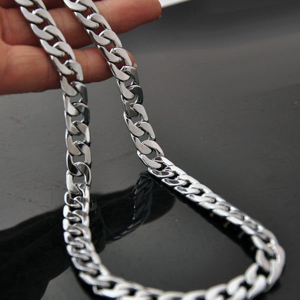 Men's Twisted Flat Chain