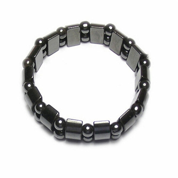 Men's Magnetic Black Stone Bracelet