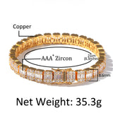 Men's Zircon Laddered Bracelet