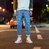 Men's Psychedelic Loose Fit Joggers