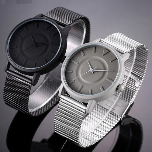 Men's Stainless Steel Sports Watch