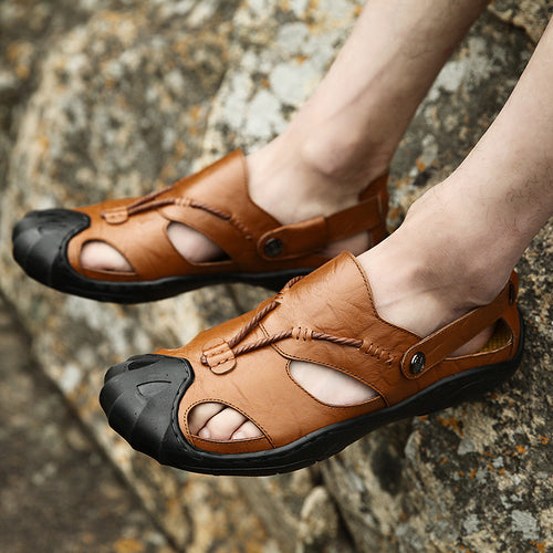 Men's Cross Cut Sandals