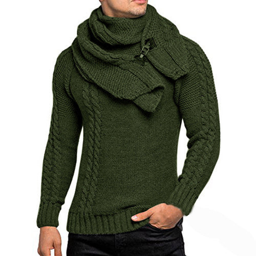Men's European Knit Sweater