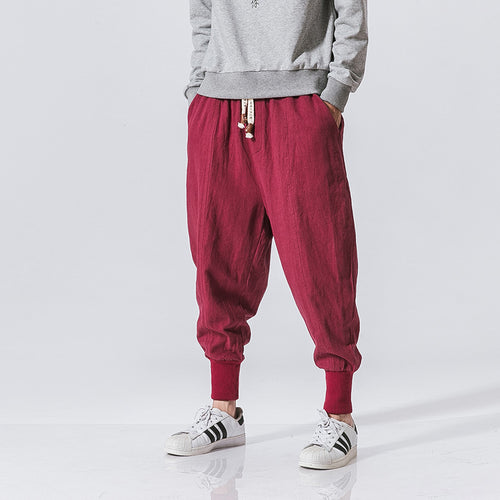 Men's Ultra Breathable Harem Joggers