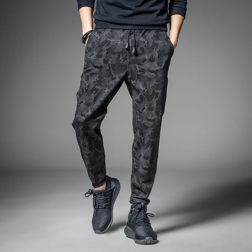 Men's Rustic Style Breathable Camouflage Joggers